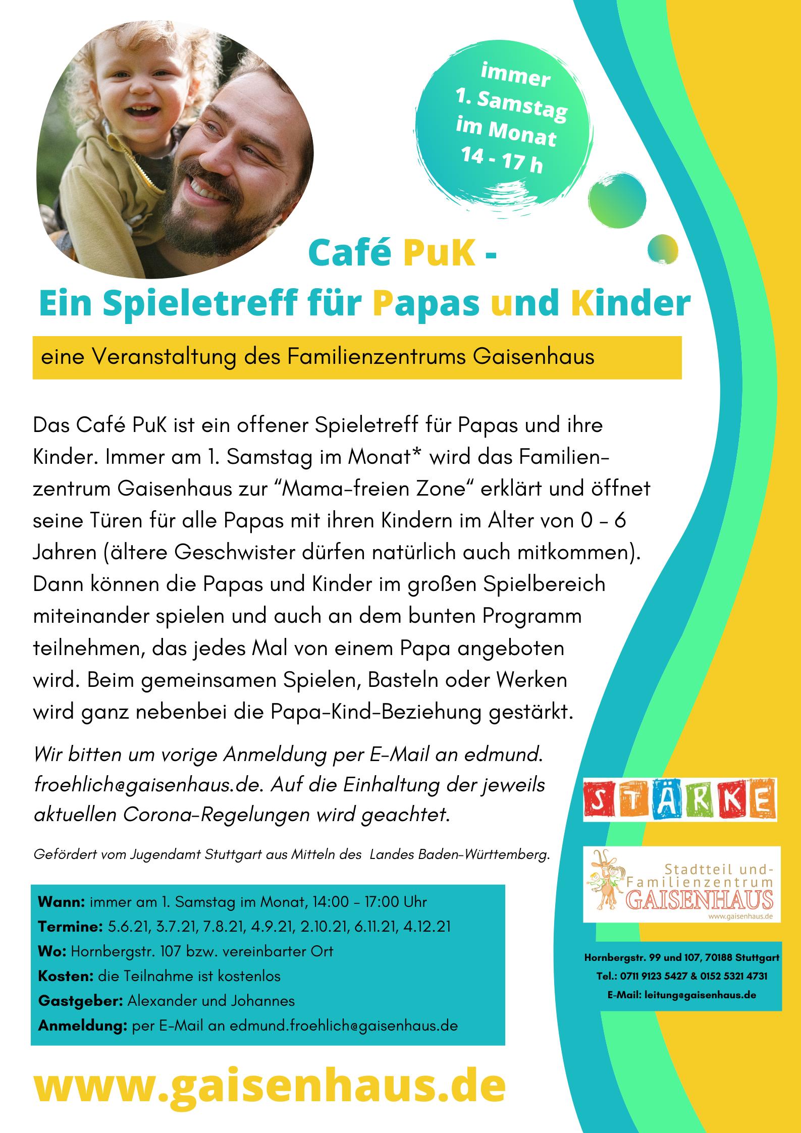 Plakat Café PuK 2021